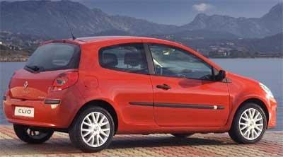 Renault Clio III presentado a la prensa hoy