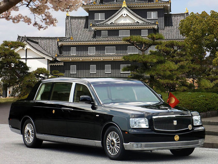 Toyota Century Royal Imperial Processional Car 4