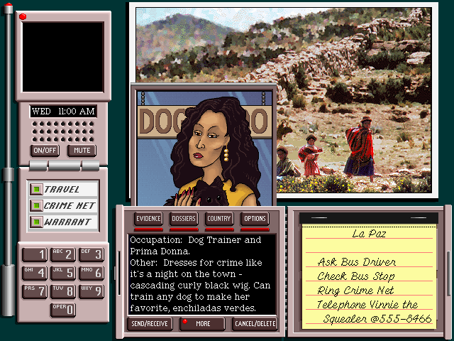Where in the World is Carmen Sandiego (Broderbund, 1989)