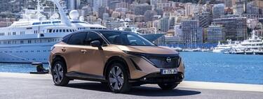 Debut con mucho glamour, el nuevo Nissan Ariya recorre el famoso circuito de Mónaco