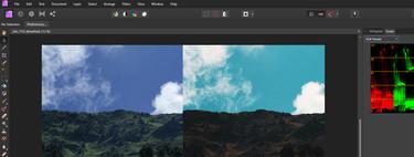 Primeros pasos en Affinity Photo, una de las alternativas a Photoshop: la edición de imagen