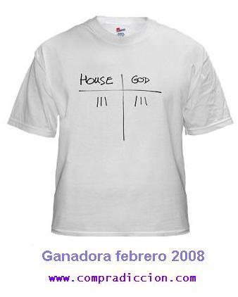 La camiseta de febrero es Camiseta House 3 - Dios 3