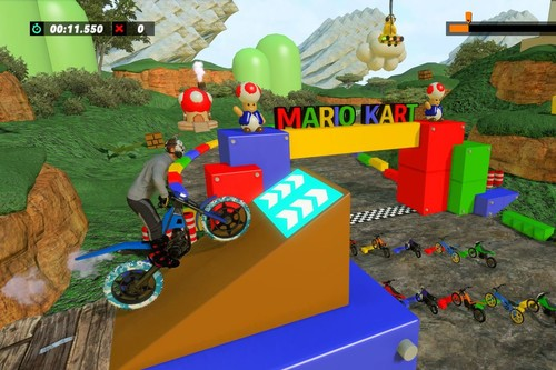 De Mario hasta Ace Combat, estas son las mejores pistas que han creado los usuarios en Trials Rising hasta ahora