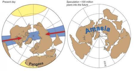 Amasia, el futuro supercontinente