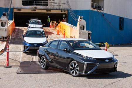 2016 Toyota Mirai Us Arrival