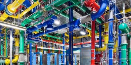 Imagen centro de datos Google