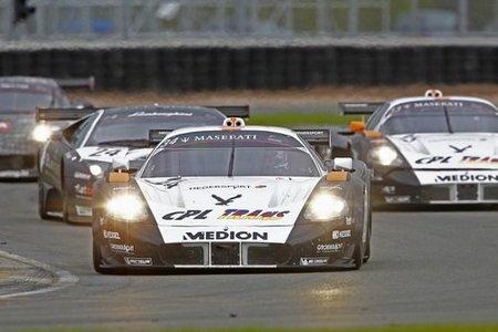 Triple H Hegersport destacó entre los Maserati en Silverstone