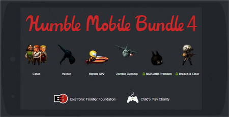 Humble Mobile Bundle 4 llega con seis juegos para Android