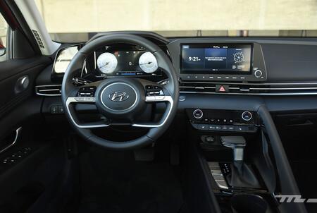 Hyundai Elantra 2022 Opiniones Prueba Mexico 14