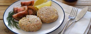Hamburguesas de solomillo de atún: receta saludable rica en proteínas