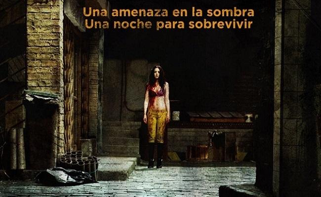Imagen con un cartel de 'El callejón'