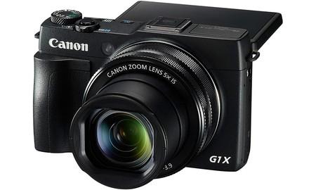 Ideal como regalo o como autoregalo, la compacta avanzada Canon Powershot G1X MARK II, ahora en Amazon a su precio mínimo: 399 euros