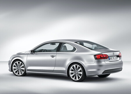 Volkswagen New Compact Coupe Concept Jetta Coupe MK6 3