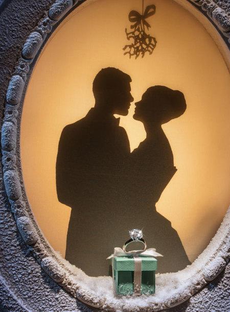 Los escaparates navideños de Tiffany & Co son ¡de película!