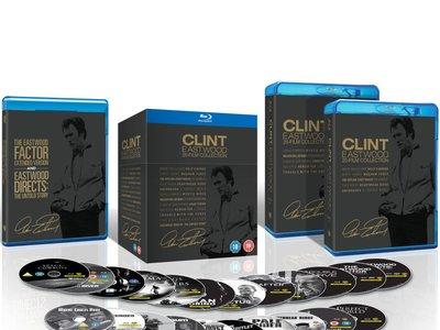 Colección Clint Eastwood, con 20 películas en Blu-ray, por 43,55 euros