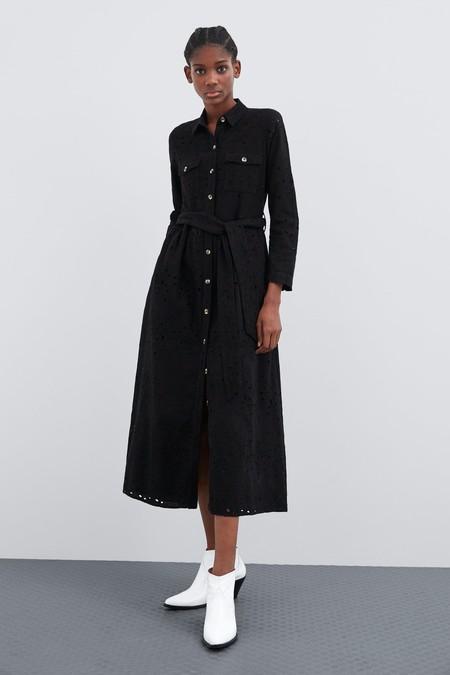 Zara Tiene Los 13 Vestidos Negros Más Ideales De La