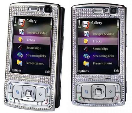 Nokia N95, edición limitada de oro y diamantes incrustados