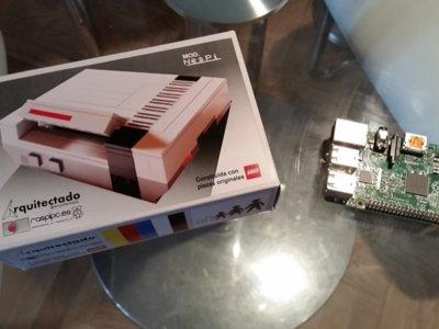 NesPi, Raspipc nos trae la caja más bonita que puedes montar con LEGO para tu Raspberry Pi