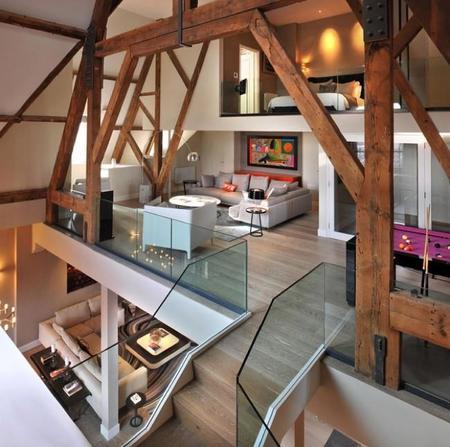 Una casa de lujo con detalles pop a todo color
