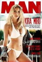 Kira Miró en la revista Man