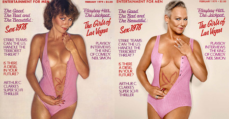 Siete modelos de Playboy recrean 38 años después sus icónicas portadas porque la belleza no envejece