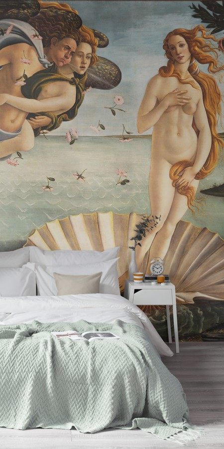 Birth Of Venus By Botticelli Murals Wallpaper