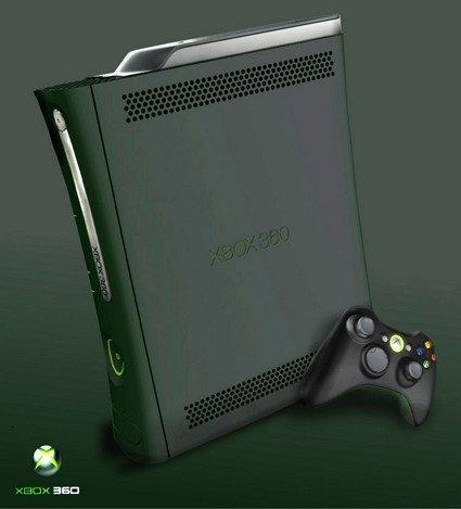 ¿Cómo sería la Xbox 360 de negro?