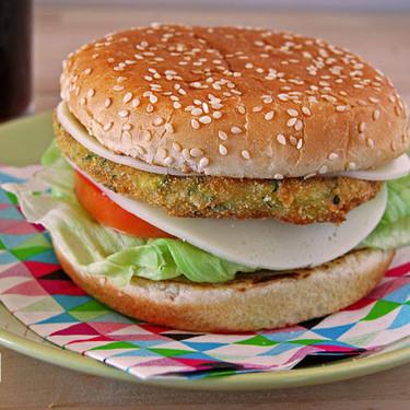 Hamburguesas de calabacín y garbanzos: receta vegetariana