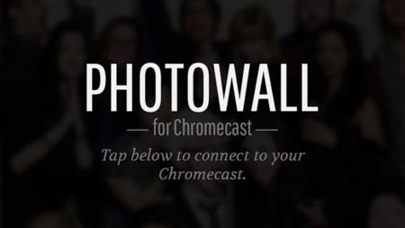 Google Photowall for Chromecast nos permite colaborar con amigos para mostrar fotos en el televisor