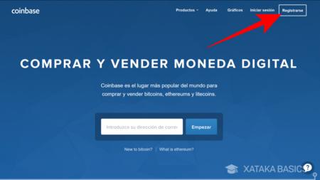 Registrieren Sie Coinbase