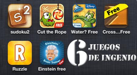 Los mejores juegos gratuitos para iOS (V): ingenio