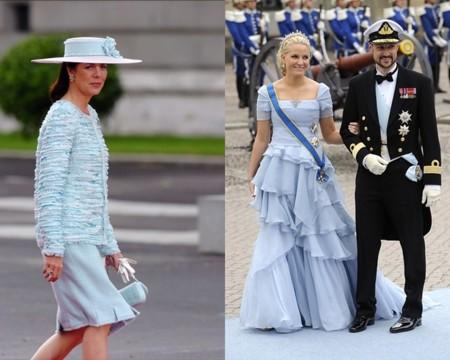 Carolina de Mónaco y Mette Marit