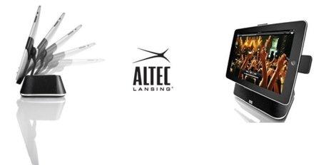 Altec Lansing lanza unos nuevos altavoces para el iPad