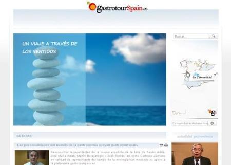 Nace GastrotourSpain.es, nuevo portal de gastronomía española