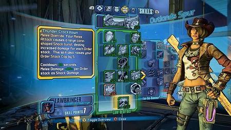 Borderlands: The Pre-Sequel nos muestra las habilidades de Nisha