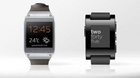 Galaxy Gear, Pebble