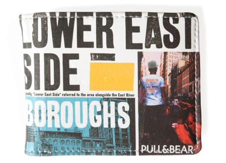 Una cartera muy neoyorquina en Pull & Bear