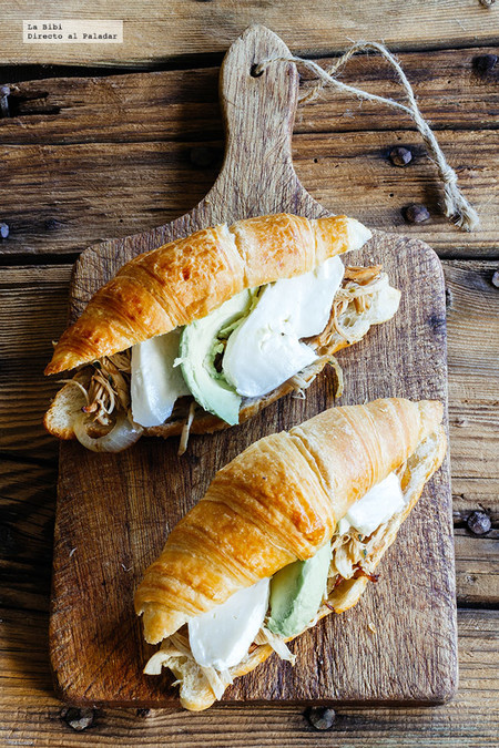 Receta Facil Ideas Lunch Saludables Regreso A Clases Cuernitos Rellenos Pollo