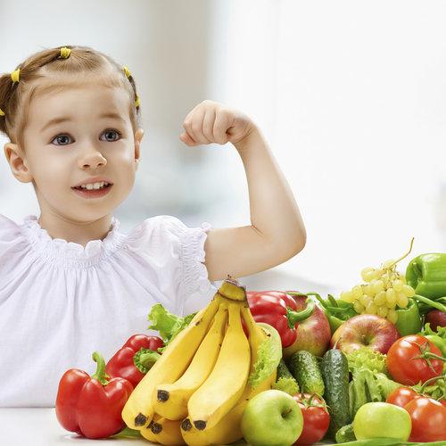 Menú semanal saludable para niños a partir de tres años