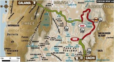 Recorrido Etapa10 Dakar2015