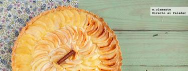 Tarta de manzana con clavo y canela. Receta