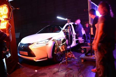 El director de Top Gear graba el anuncio del Lexus NX 300h