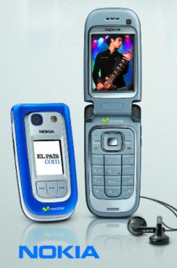 Movistar y El País regalan un Nokia 6267