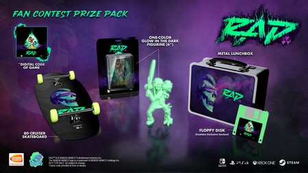 Rad Graffiti Fan Art Contest Prize Pack