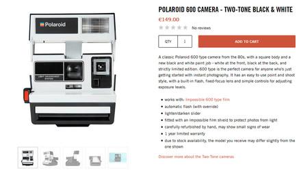 Polaroid600b W 1