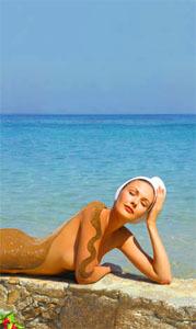 Beneficios de los baños marinos