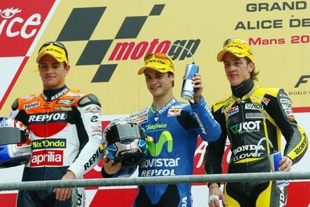 Dani Pedrosa Gp Francia 250cc 2005