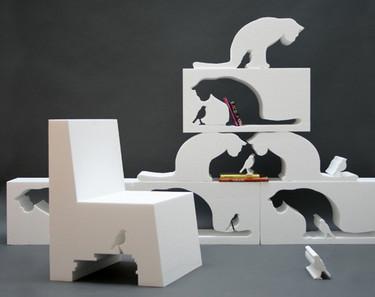 Fill in the Cat: gatos en tu salón