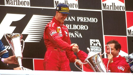 Schumacher Espana F1 1996