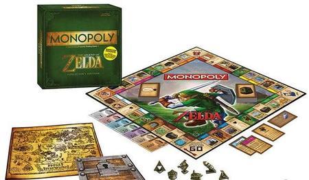 Confirmado para septiembre el Monopoly de The Legend of Zelda
